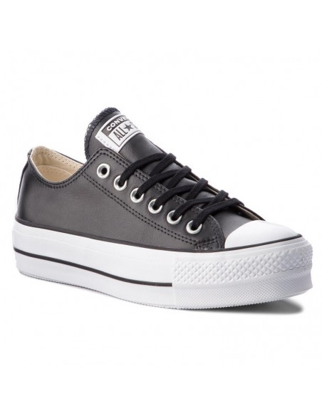 Scarpe Converse modello Platform Pelle - sport-fashion.it